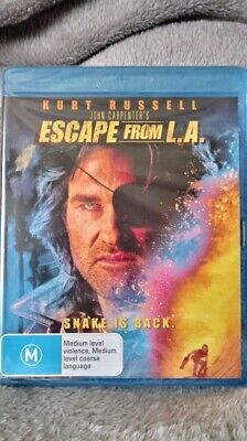 Escape From L.A. - Blu-ray Region B New & Sealed very rare cheapest on ebay