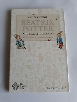 Beatrix Potter 2017 50p Album Folder Brand New Royal Mint