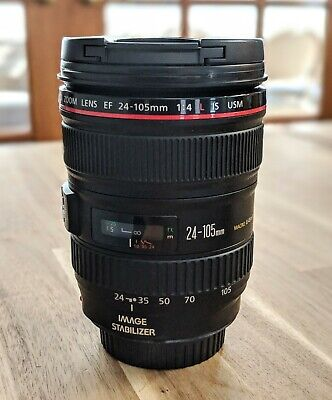 Canon EF 0344B002 24-105mm f/4 IS L AF (Auto Focus) USM zoom Lens