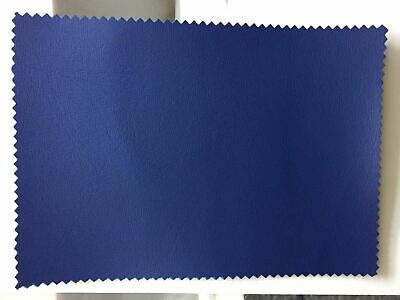 Blue Heavy Duty Upholstery Faux Leather/ Vinyl/Fabric/Leatherette/Material