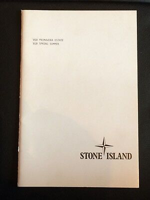 Stone Island Spring Summer 2010 Lookbook Catalogue Brochure Book Fashion Vintage