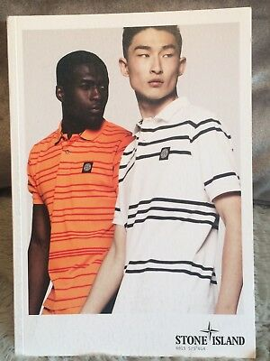 Stone Island Spring Summer 2014 Lookbook Catalogue Brochure Book Fashion Vintage