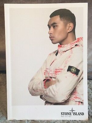 Stone Island Spring Summer 2017 Lookbook Catalogue Brochure Book Fashion Vintage