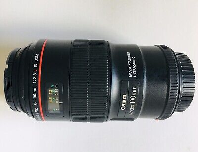 Canon EF 100mm f2.8 L IS Macro Lens - excellent condition