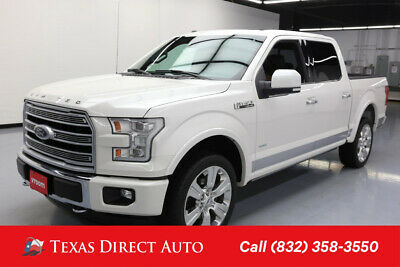 2016 Ford F-150 Limited 4dr SuperCrew 4WD Texas Direct Auto 2016 Limited 4dr SuperCrew 4WD Used Turbo 3.5L V6 24V