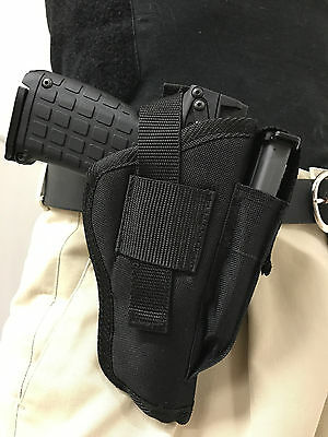 HOLSTER WITH MAGAZINE Pouch For Springfield XD-9 (9MM) with 4