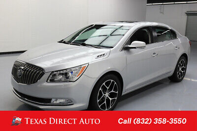 2016 Buick Lacrosse Sport Touring Texas Direct Auto 2016 Sport Touring Used 3.6L V6 24V Automatic FWD Sedan Bose