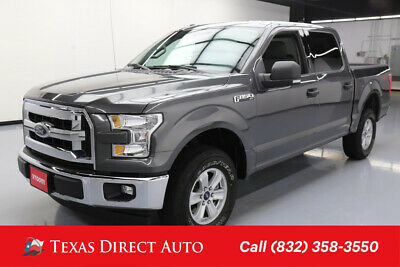 2017 Ford F-150 XLT 4dr SuperCrew Texas Direct Auto 2017 XLT 4dr SuperCrew Used 5L V8 32V Automatic 4WD Pickup