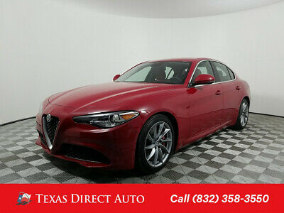 2017 Alfa Romeo Giulia Ti Texas Direct Auto 2017 Ti Used Turbo 2L I4 16V Automatic RWD Sedan Premium