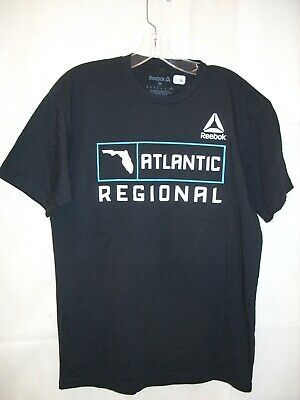 REEBOK - Mens Crossfit Atlantic Regionals 2018 Florida Activewear T-Shirt *NEW*