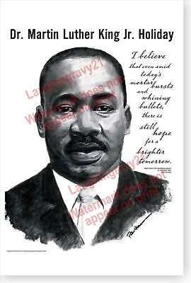 Holiday Birthday DOD Poster Martin Luther King Jr