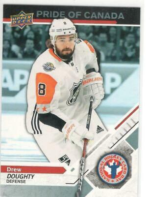 2019 Upper Deck  National Hockey Card Day Canada Pride Of Canada Drew Doughty