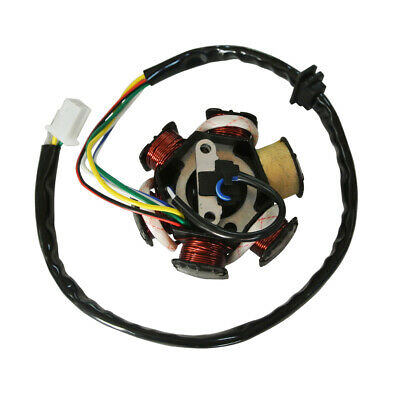 6 Poles Coils Ignition Stator Fit GY6 125cc 150cc Chinese Moped Scooter ATV Part