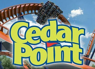 4 Cedar Point General Admission Tickets  Sandusky, OH