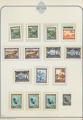 Indonesia Specialized Album Page LOT #10 - SEE SCAN - $$$