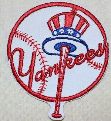 c09d50fa559e9 NEW YORK YANKEES - Baseball Embroidered Iron-on Patch