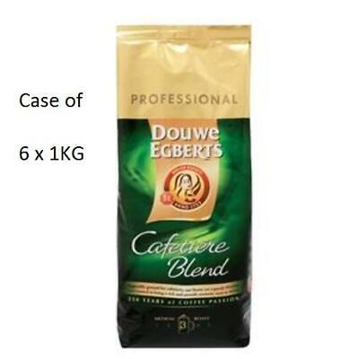 Douwe Egberts Roast and Ground Cafetiere 6 x1kg