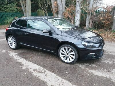 Vw Scirocco 2.0 Tsi Dsg In Black Drives Well Service History Nice Condition