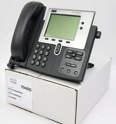 CISCO 7940 SIP Latest Firmware Unified IP VoIP Phone CP