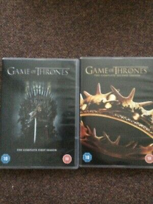 Game of Thrones Complete Season 1 & 2 - 2 DVDs (Region 2)
