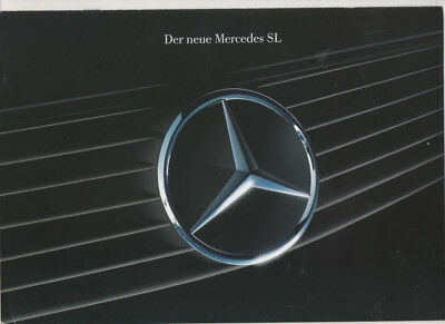 Mercedes   SL   1990 catalogue brochure prospekt