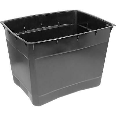 Cold Water Storage Tank 25 Gallon Upright Plastic Container 114 Litres Coffin