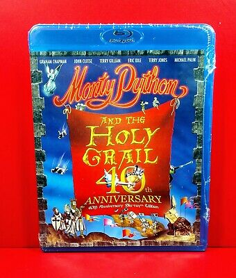Monty Python and the Holy Grail (Blu-ray Disc, 2015, 40th Anniversary Ed) - NEW