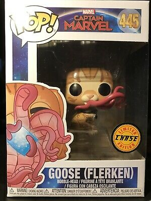 Funko Pop Captain Marvel Goose (Flerken) Limited Chase Edition BNIB