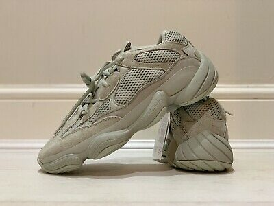 new concept eb313 a2d27 ADIDAS YEEZY 500 Sneakers Trainers Kanye West Size UK 10 SALT RARE