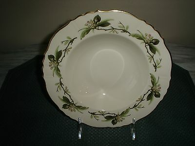 Syracuse China WESTVALE Pattern Soup Bowls (2) One Owner Excellent USA