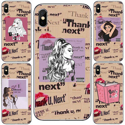 Thank U, Next Ariana Grande Soft Silicone Case for iPhone 6 7 8 X XR XS MAX