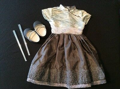 Genuine American Girl Doll Clothes (Silver Belle Outfit)
