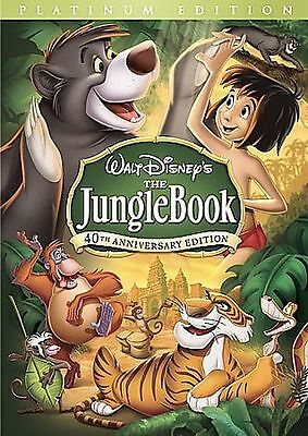 The Jungle Book (DVD, 2007, 2-Disc Set, 40th Anniversary Edition)  BRAND NEW