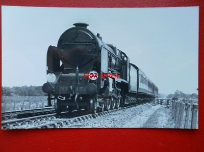 Photo  Sr Class Ln (Lord Nelson) Loco No 856  Lord St. Vincent Nr Wool 1935 Br 3