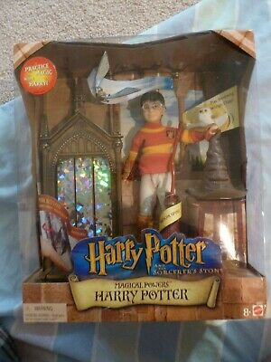 Harry Potter And The Sorcerer's Stone Magical Powers Action Figure (Rare)