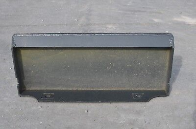 """1/4"""" Thick Steel Quick Tach Mount Plate Mini Skid Steer Toro Dingo Ditch Witch"""