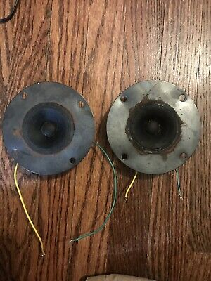 2 ACOUSTIC RESEARCH Tweeters  From AR-4X Speaker Not Working 4 Parts Or  Service