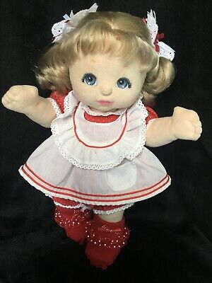 BEAUTIFUL AUSSIE Doll ~ Rare Charcoal Make Up, BLUE eyes ~ AUTHENTIC Outfit ~ EC