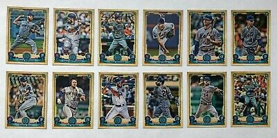 New York Mets 2019 Topps Gypsy Queen Base Team Set *12 cards* deGrom McNeil RC