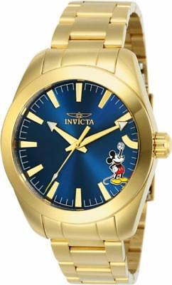 Disney Limited Edition 25241 Men's Round Analog Punching Mickey Mouse Watch