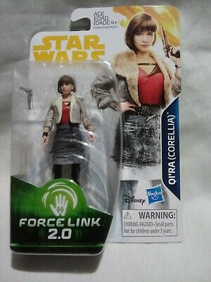 QI'RA Corellia Figure Star Wars  Force Link 2.0   Qira 3.75 inch