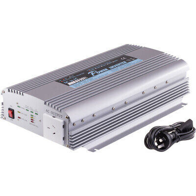 PIN1000C DOSS 1000W 12Vdc-240Ac Inverter With Battery/Solar Inputs