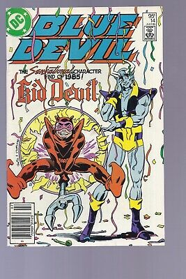 Canadian Newsstand Edition Blue Devil #14 $0.95 Price Variant