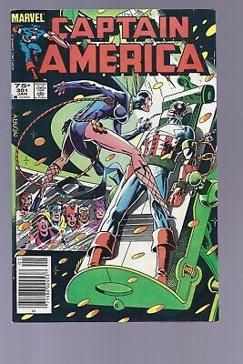 Canadian Newsstand Edition Captain America #301 $0.75 price variant