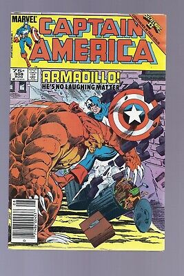 Canadian Newsstand Edition Captain America #308 $0.75 price variant