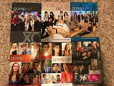 Gossip Girl Complete Series Seasons 1 2 3 4 5  6 DVD Set