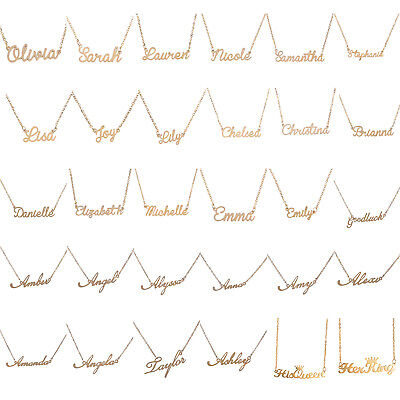 Fashion Choker Custom Name Pendant Chain Customized Nameplate Necklace Jewelry