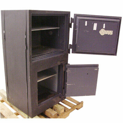 Gary 9745 Combination Floor Safe Industrial Grade Pry Resistant Double Entry