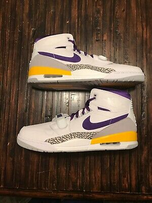 best sneakers b9872 4a498 Nike Air Jordan Legacy 312 AV3922-157 LA Lakers Colors IN HAND Size 17