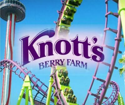 4 Knotts Berry Farm General Admission Tickets